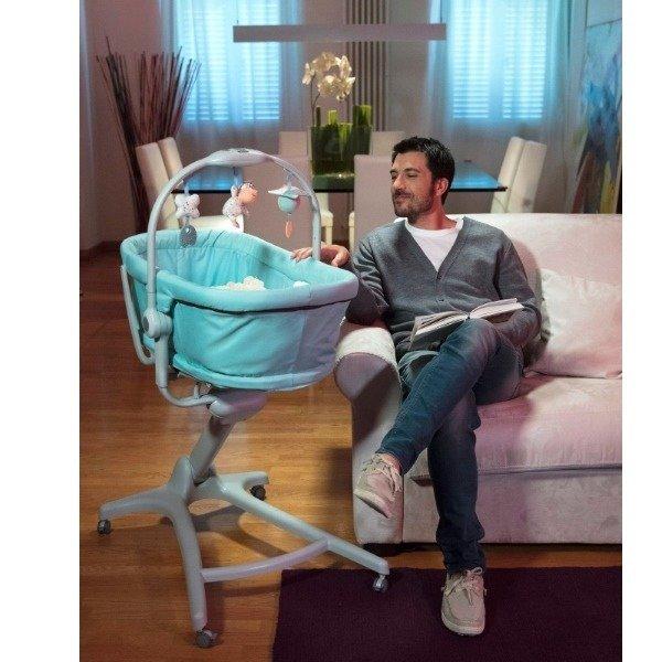 Znalezione obrazy dla zapytania Chicco Baby Hug Leżaczek/Krzesełko 4w1
